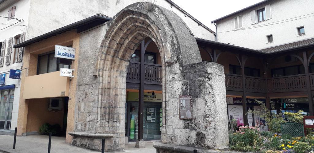 photo ancienne porte Montluel